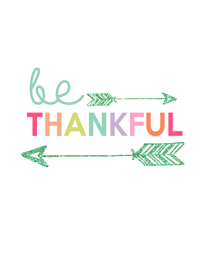 30 Odd and Random things to be Thankful for…